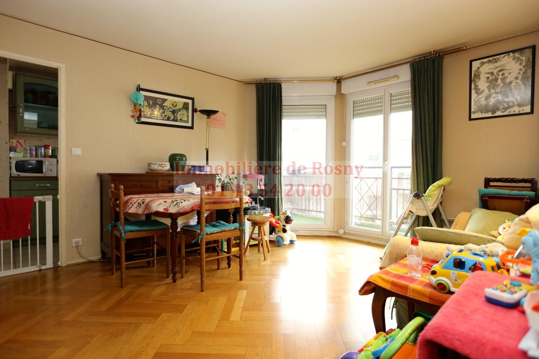 Annonce vente appartement rosny sous bois 93110 53 m for Annonce vente appartement