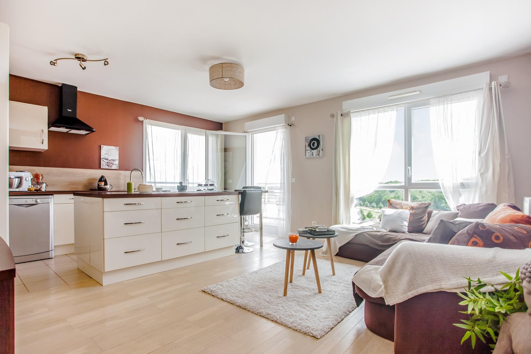 Achères - appartement 3P- 59m²